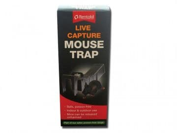 Live Capture Mouse Trap (Boxed)